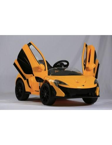 Carro a bateria McLaren P1 - Amarillo
