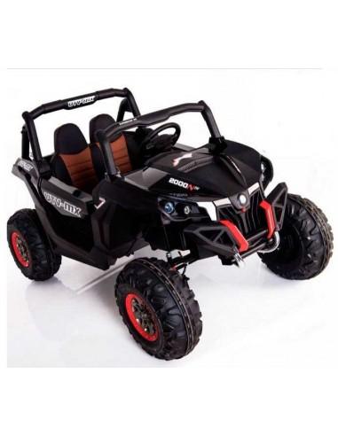 Carro a bateria Jeep chacarera - Negro
