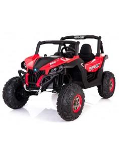 Carro a bateria Jeep arenero - Rojo