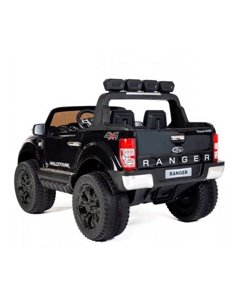 Carro a bateria Ford Ranger con pantalla - Negro