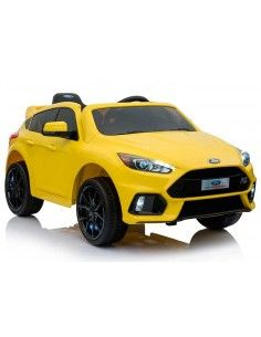 Carro a bateria Ford Focus - Amarillo