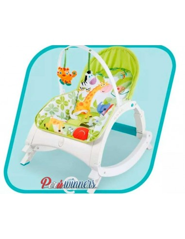 Bouncer silla mecedora LS308 - Verde
