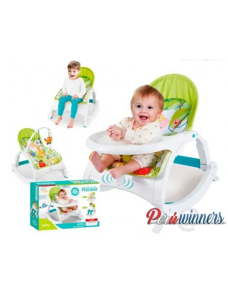 Bouncer silla mecedora LS308 - Verde