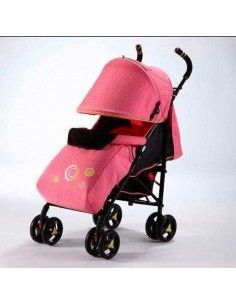 Coche baston For ever kids - Rosado jade