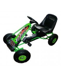Chachi car go kart mediano - Verde