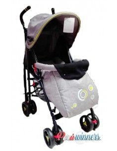 Coche baston For ever kids - Plomo jaspeado
