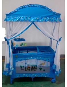 Cuna corral Kingdom BH26 - Azul