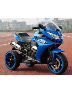 Trimoto a bateria Januca X01 - Azul