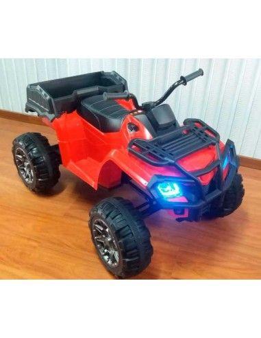 Cuatrimoto a bateria XT201 - Roja