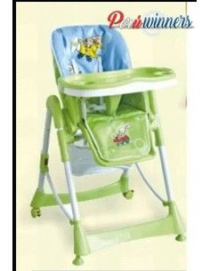 Silla de comer Graduable Royal Baby - Verde