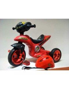 Triciclo modelo moto - Rojo