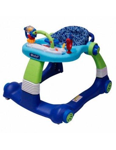 Andador caminador Ebaby Sandella - Azul