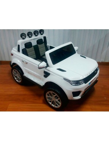 Carro a bateria camioneta jeep - Blanco