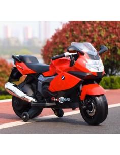 Moto a batería BMW Licenciada - Rojo