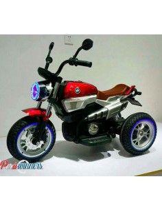 Moto a bateria Kingdom Harley Style - Rojo