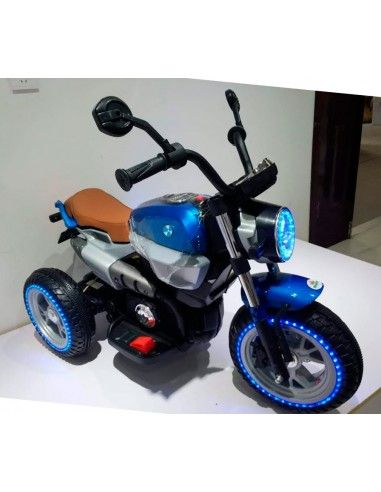Moto a bateria Kingdom Harley stylus - Azul
