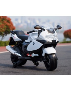 Moto a batería BMW Licenciada - Blanco