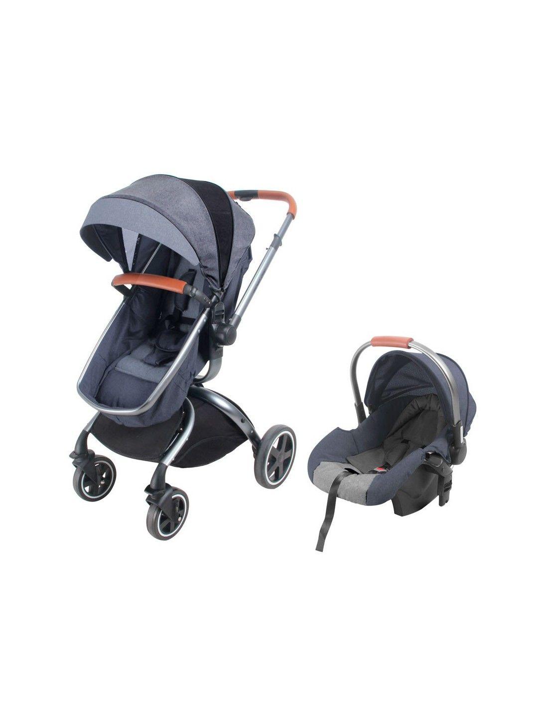 208e3f11d Coche cuna TRavel System Baby Kits F80 - Plomo