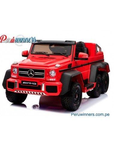 Mercedes Benz G63 6x6 Licenciado - Rojo