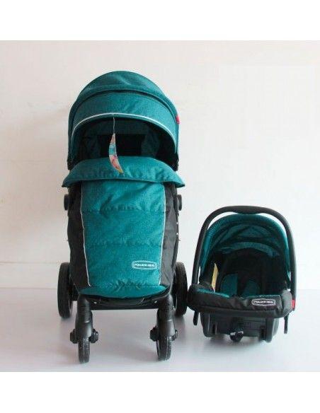 Coche con porta bebe Power Kids PK58 - Verde
