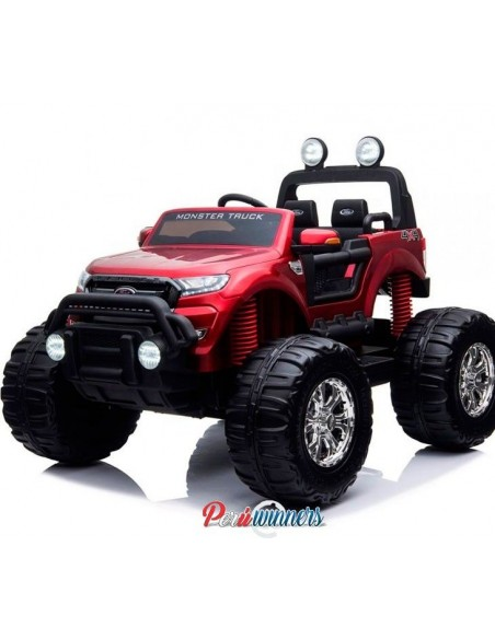 Monster Truck Ford Licenciado - Rojo