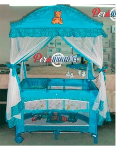 Cuna corral Royal Baby - Celeste