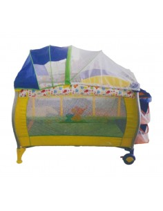 Cuna Corral Pack And Play Baby King - Multicolor