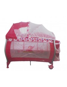 Cuna Corral Pack And Play Baby King 004 - Fucsia