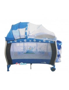 Cuna Corral Pack And Play Baby King 004 - Azul A