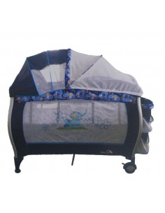 Cuna Corral Pack And Play Baby King 004 - Azul B