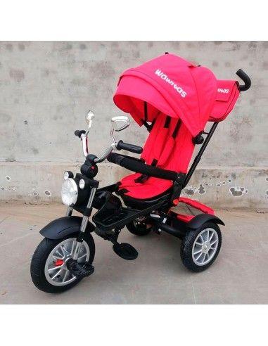 Triciclo Wawitas Chopper - Rojo