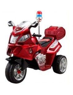 Trimoto moto modelo policia wawitas - roja