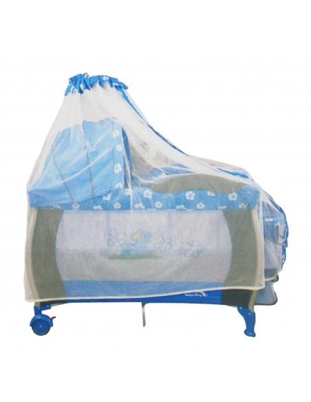 Cuna corral Baby King BK002 - Azul