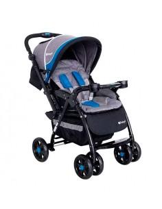 coche cuna ebaby Yodie - Azul