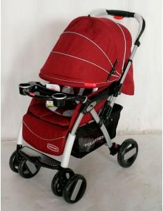 Coche cuna Power kids 5208/1 - Rojo