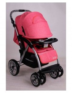 Coche Power kids 8520/1 -Fucsia