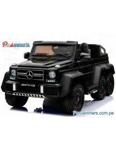 Mercedes Benz G63 6x6 Licenciado - Negro