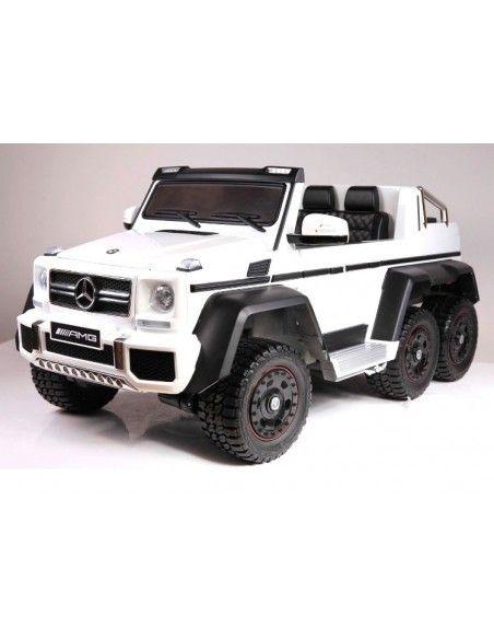 Mercedes Benz G63 6x6 Licenciado - Blanco