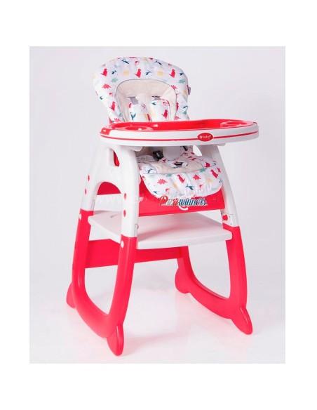 Silla carpeta Ebaby Merly - Rojo