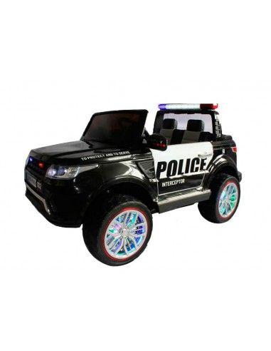 Camioneta a bateria Policia - Negro