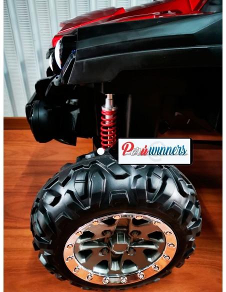 Carro a bateria Arenero XL - Rojo