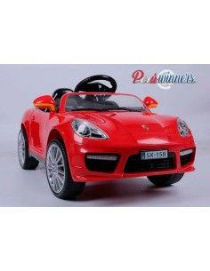 Carro a bateria Estilo Porsche - Rojo