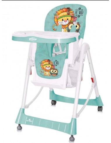 silla comedor multiniveles PRIMO-verde leon