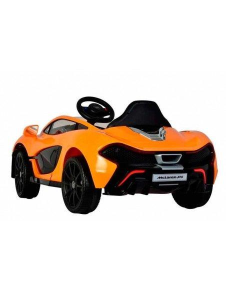 Carro a bateria McLaren P1 - NARANJA