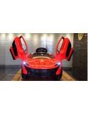 Carro a bateria McLaren P1 - Rojo