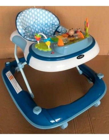 Andador anti vuelco Hi Baby- Azul
