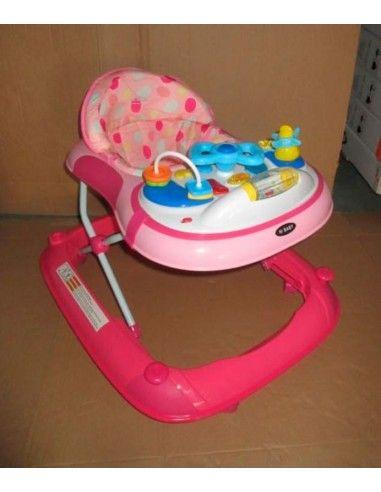 Andador Timon Hi baby - Rosado