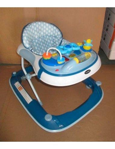 andador timon Hi Baby - Azul