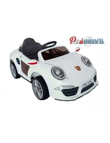 Carro a bateria Porsche - Blanco