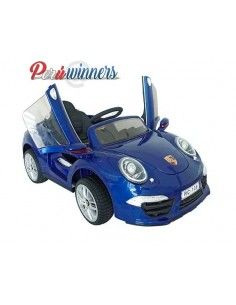 Carro a bateria Porsche - Azul